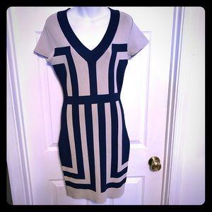 Eva Longoria knit bodycon dress